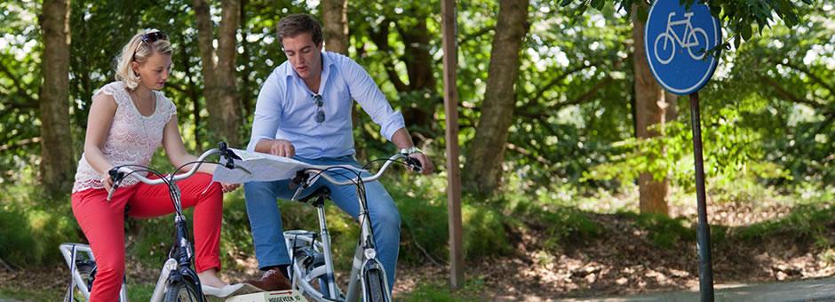 Ontspannen *fietsen* langs bijzondere *plekjes* - Van der Valk Fietsen