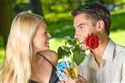 Valentijnarrangement inclusief romantisch diner