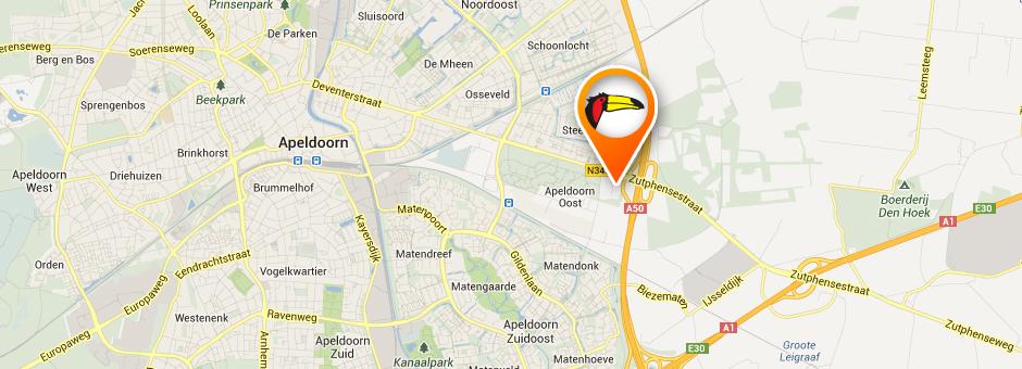 de nieuwe locatie van *Hotel Apeldoorn* - Hotel Apeldoorn (in aanbouw)