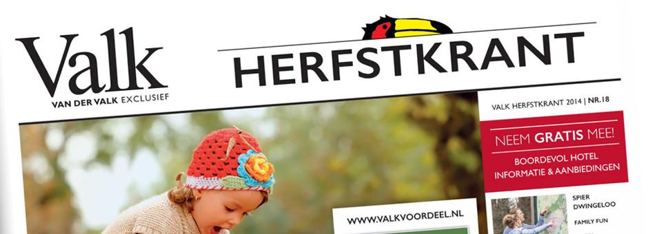 ERVAAR DE *Herfst Valk Krant* - Valk Exclusief