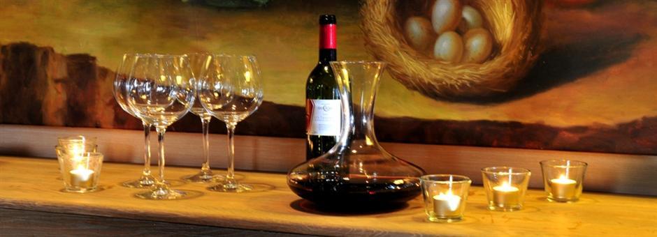 Ergänzen Sie Ihr Essen|mit einem edlen Wein - Hotel Kasteel Bloemendal