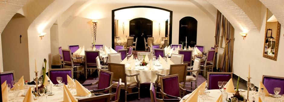 Sfeervolle zalen|voor vergaderingen en feesten - Hotel Kasteel Bloemendal