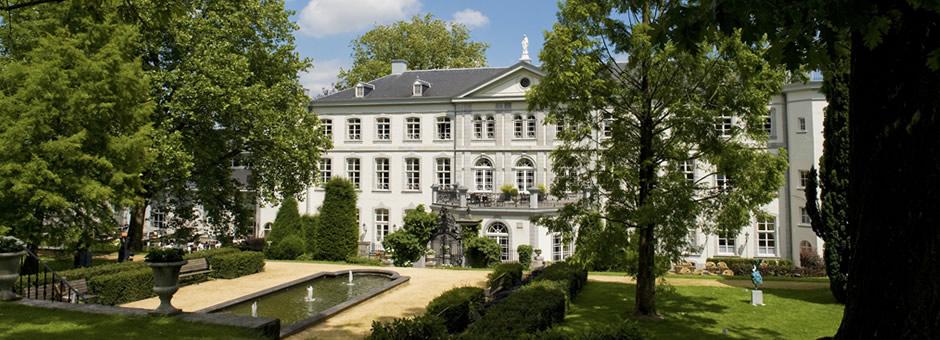 Großartiger Schlossgarten geeignet für Teambildungen - Hotel Kasteel Bloemendal