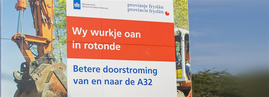 *wegwerkzaamheden* - Hotel Wolvega - Heerenveen