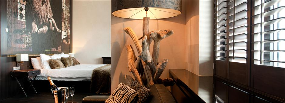 de nieuwste Afrika Suite - Hotel Houten - Utrecht