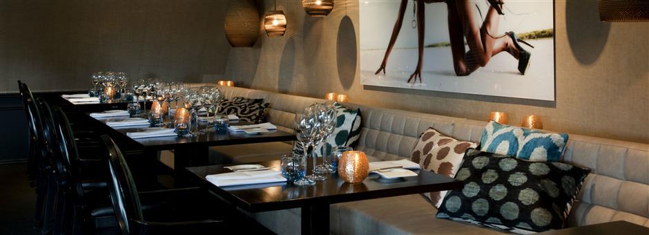 Exclusief dineren in   Restaurant Upstairs - Hotel De Gouden Leeuw