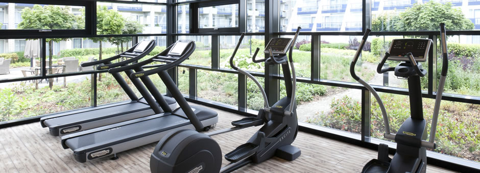 No excuse not to *exercise* & *stay fit*  - Hotel Schiphol