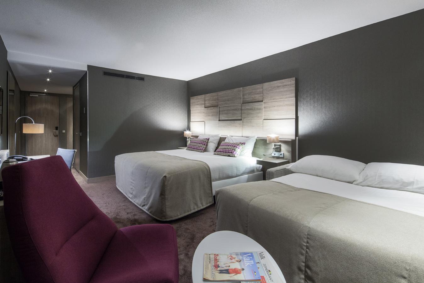 Extra bed bij comfort+ kamer - Hotel Haarlem