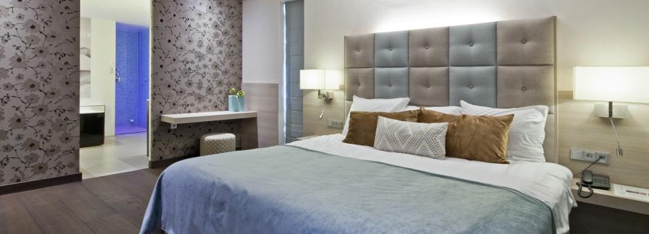 Laat u heerlijk verwennen in onze luxe suites - Hotel Heerlen
