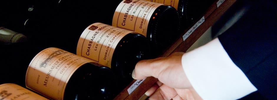 Laat u verrassen  door onze wijnselectie - Restaurant Upstairs