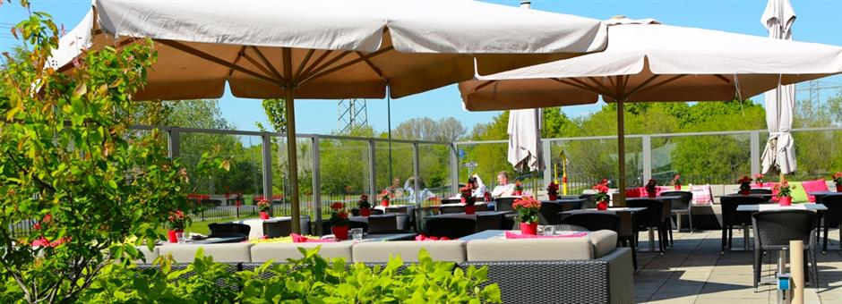 *Enjoy the great weather!* - Airporthotel Duesseldorf