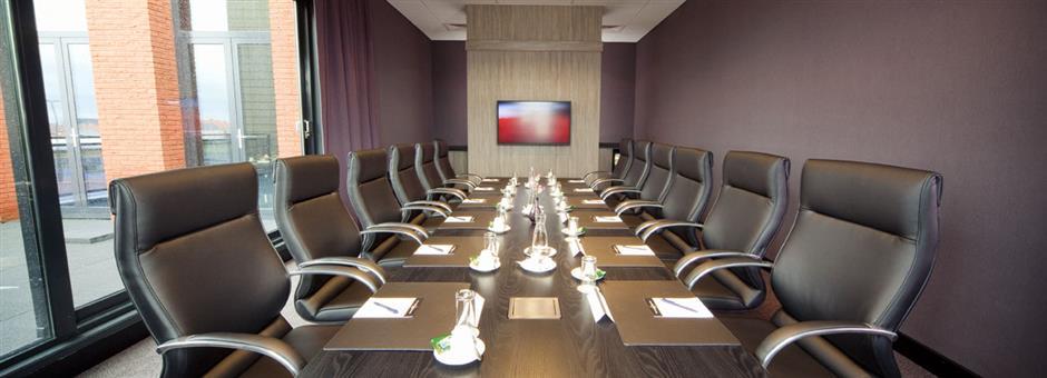 *Boardrooms* voor een succesvolle *vergadering* - Hotel Middelburg
