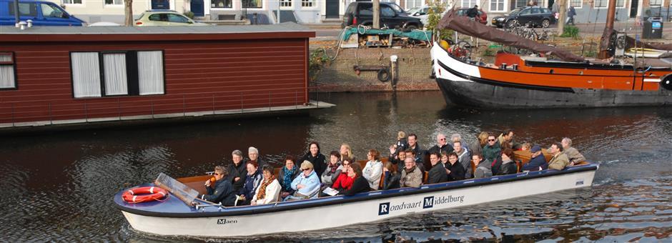 Rondvaart door Middelburg - Valk Zeeland