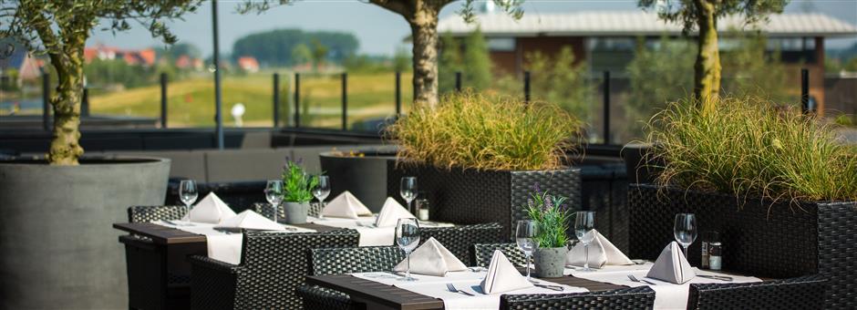 Zonnig terras - Hotel Middelburg