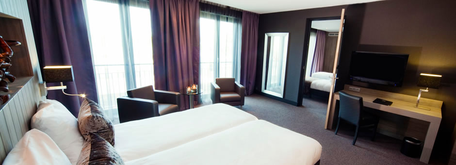 Luxurious overnight stay   is what we offer as a standard - Hotel Middelburg