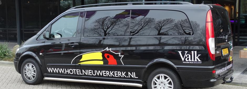 *FREE* shuttle service on request and availability - Hotel Rotterdam - Nieuwerkerk