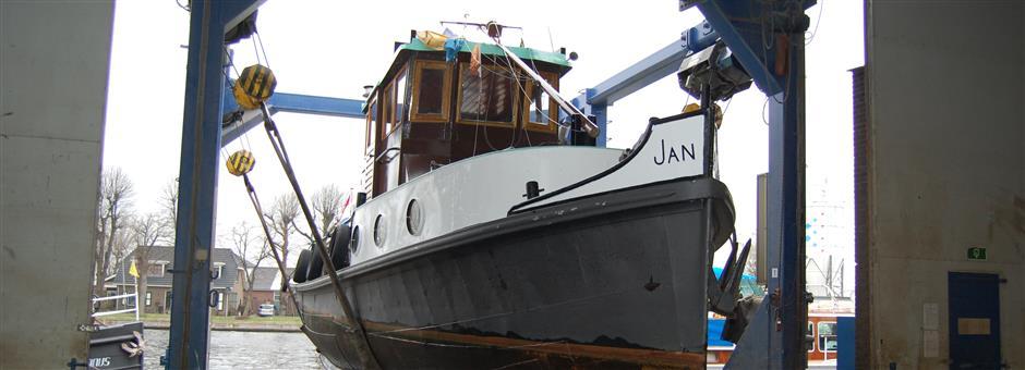 botenlift tot 40 ton - Scheepswerf Falcon