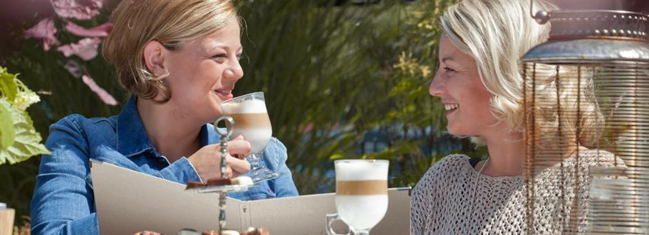 Ons zonnige terras staat voor u klaar - Hotel Spier-Dwingeloo