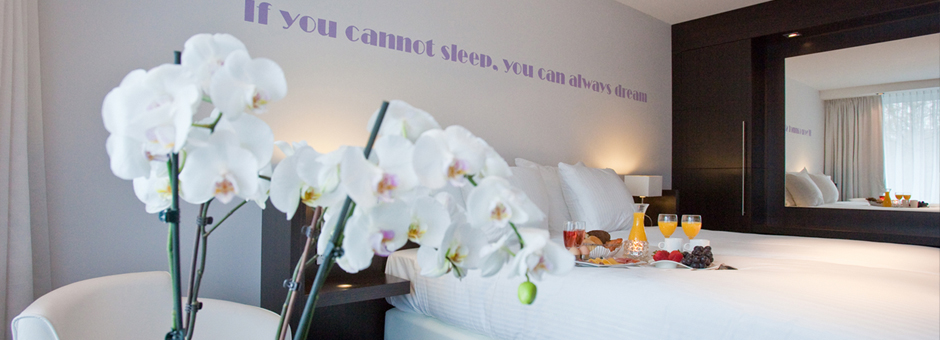 All you need for a good *night's sleep* - Hotel Assen