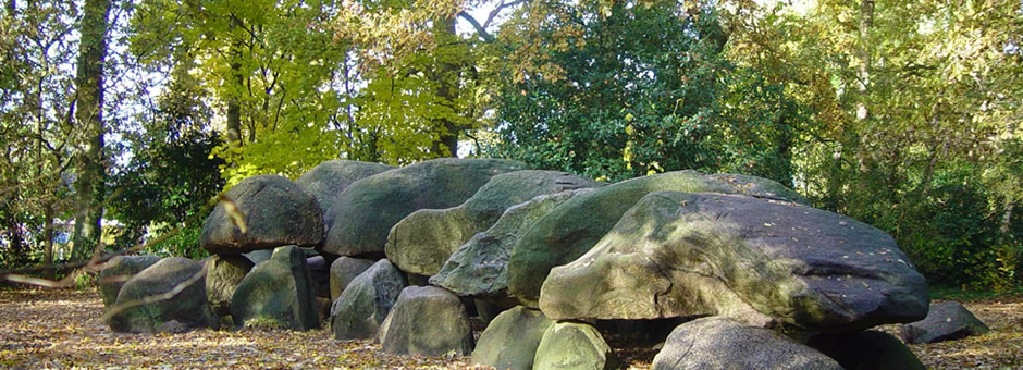 Drenthe's *megalithic graves*|within a stone's throw - Hotel Assen