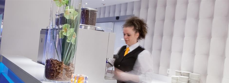 eine genussvolle Tasse Kaffee - Hotel Wieringermeer