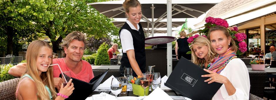 Heerlijk terras - Hotel Avifauna