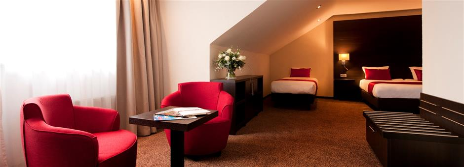 Nieuw! Driepersoons comfortkamer - Hotel Avifauna