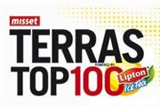 Terras Top 100 arrangement - Kasteel TerWorm