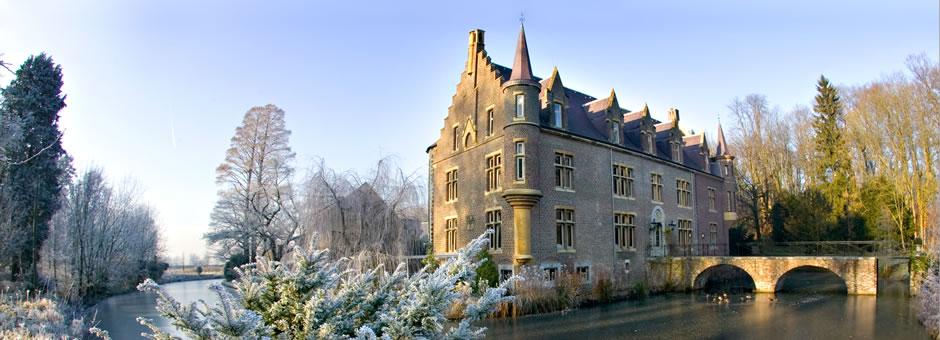 Magisch *winters* sfeertje op en rond het *kasteel* - Hotel Heerlen