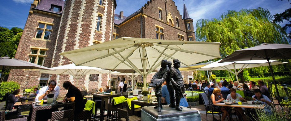 Het *mooiste terras* | van Zuid-Limburg - Kasteel TerWorm