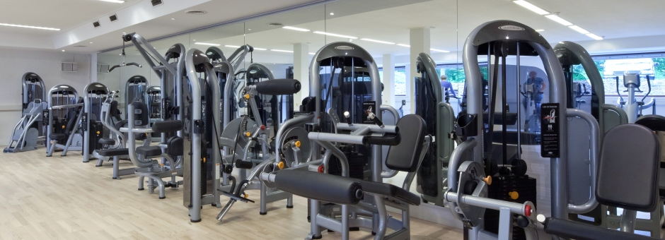 *Moderne* fitness apparatuur - Kasteel TerWorm