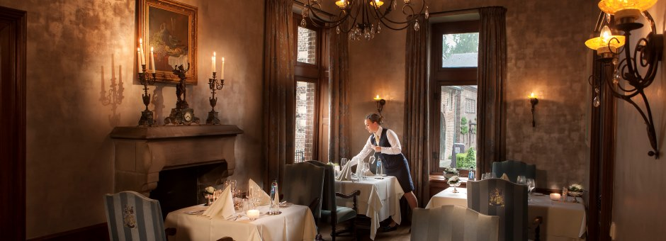 Ongedwongen *dineren* | in een *stijlvolle ambiance* - Kasteel TerWorm