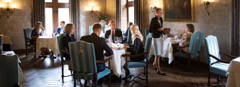 Ongedwongen dineren   in een stijlvolle ambiance - Kasteel TerWorm