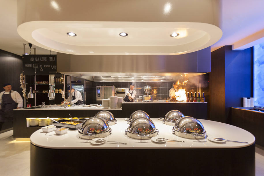 Live Cooking buffet! - Hotel Maastricht